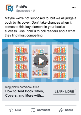 Facebook Ads Split Test - Option A