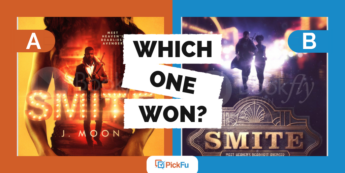 Which One Won? A Book Cover for Two Different Genres