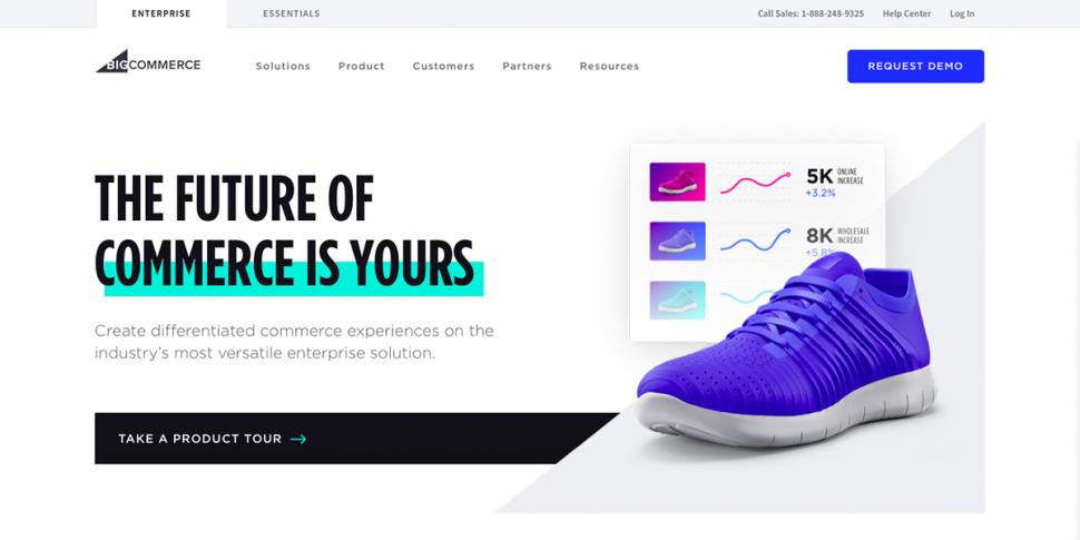 ecommerce website tool bigcommerce