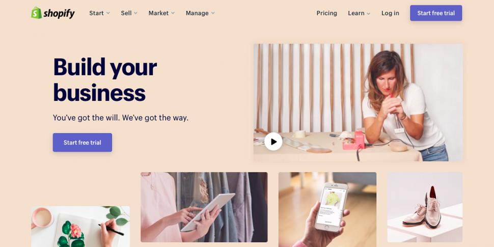 e-commerce website tool shopify