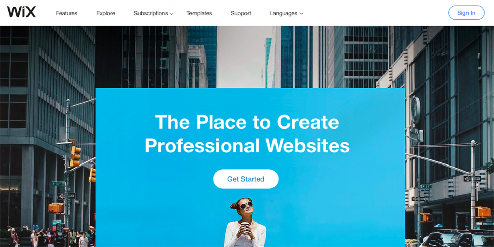 ecommerce website tool wix