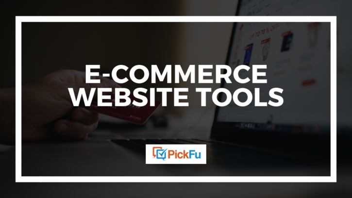 5 e-commerce website tools