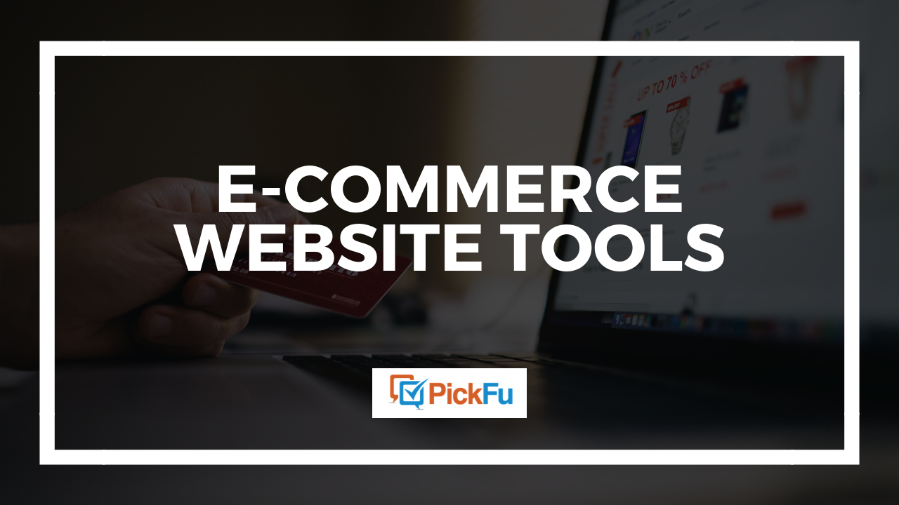 5 e-commerce website tools