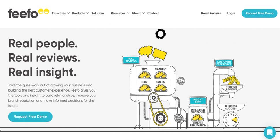 feefo homepage
