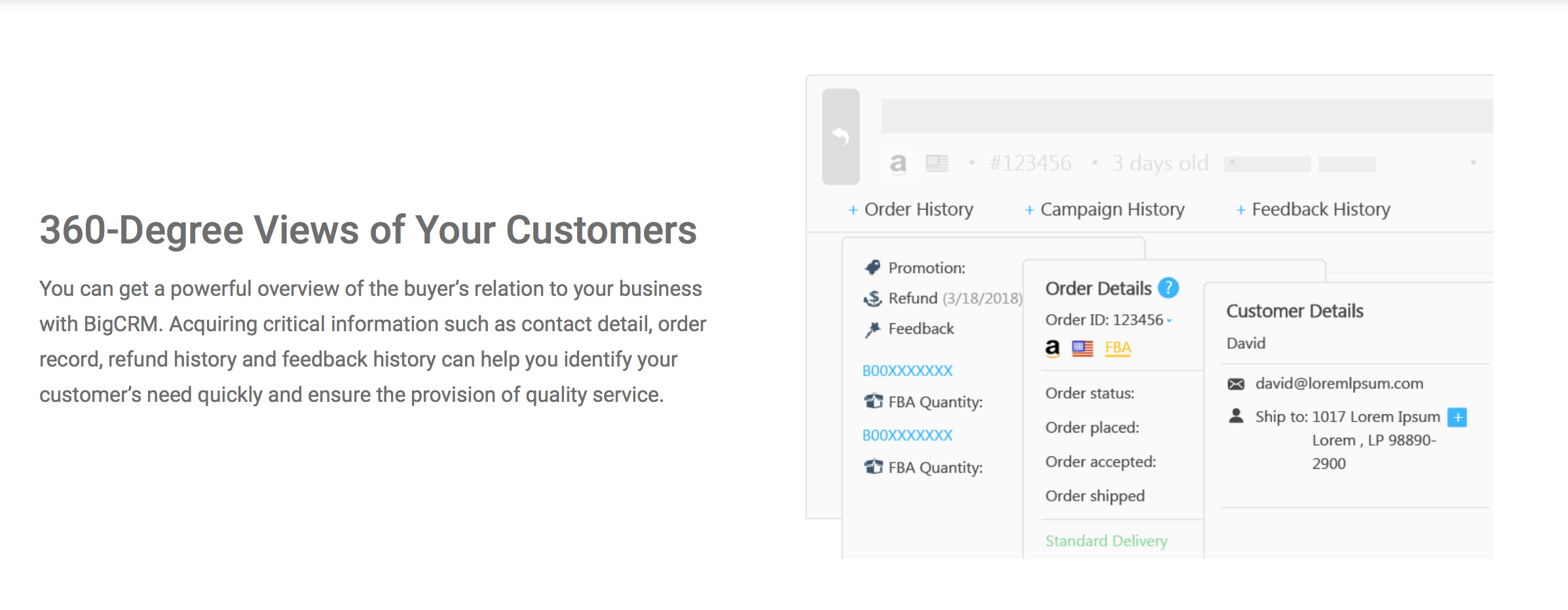 Amazon feedback tools: BQool homepage