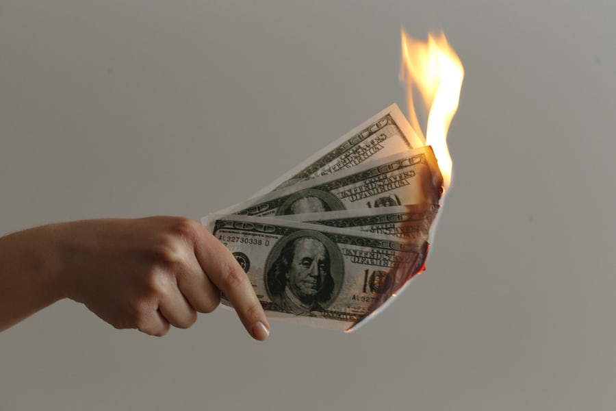 Your mobile app business plan needs to calculate your runway, so you don't burn through your finances.