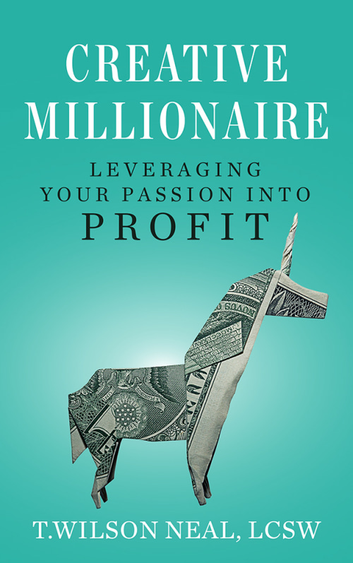Which One Won: book cover featuring a unicorn made of money