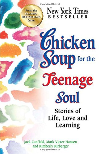 How to structure a self-help book: Chicken Soup for the Teenage Soul book cover
