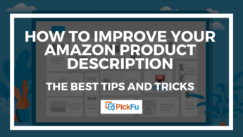 A header image that says, 'How to Improve your Amazon Product Description: The Best Tips and Tricks.'
