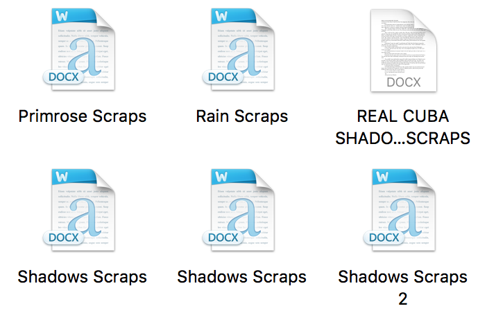 How to Write a Book in Word - Save your scraps