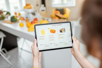 Shopping food online
