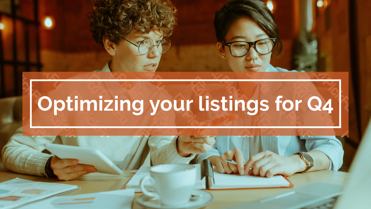 Optimizing your listings for Q4