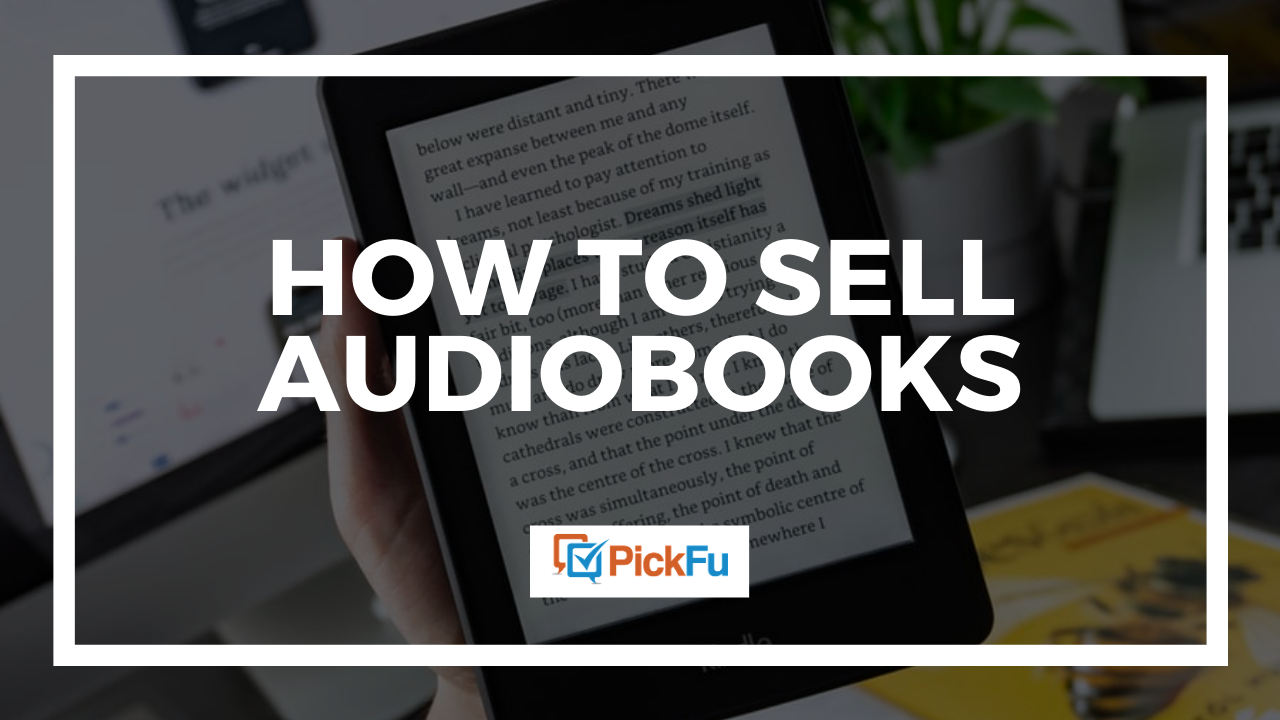 How to sell audiobooks