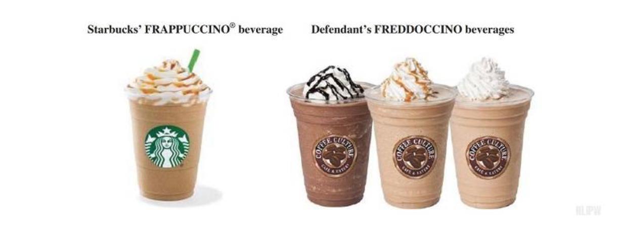 Likelihood of confusion: Starbucks Frappuccino vs. Freddoccino