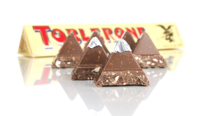 Likelihood of confusion: Toblerone chocolate bar