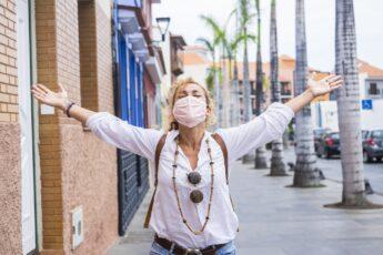 PickFu year in polls: Woman in mask
