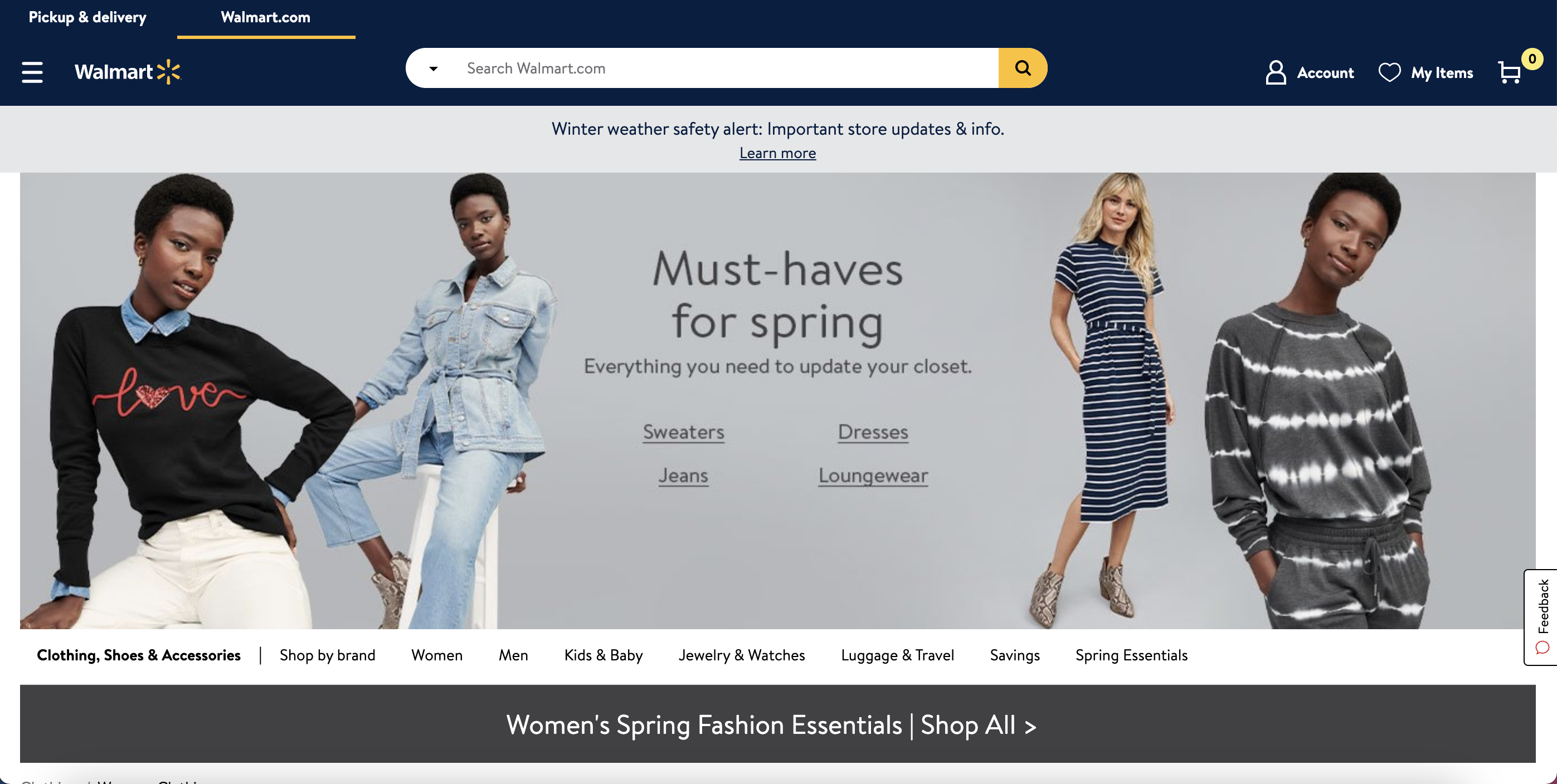 Guide to Walmart listings: Walmart Marketplace is shifting to selling more clothing