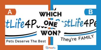 Which One Won: pet supplement tagline