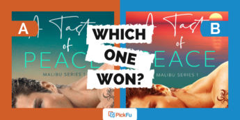 Which One Won: shirtless man on romance book cover