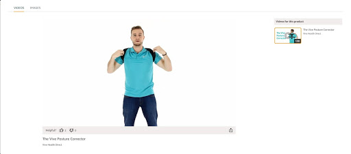 Baby boomer marketing: product image from Vive, which makes physical therapy products for older people
