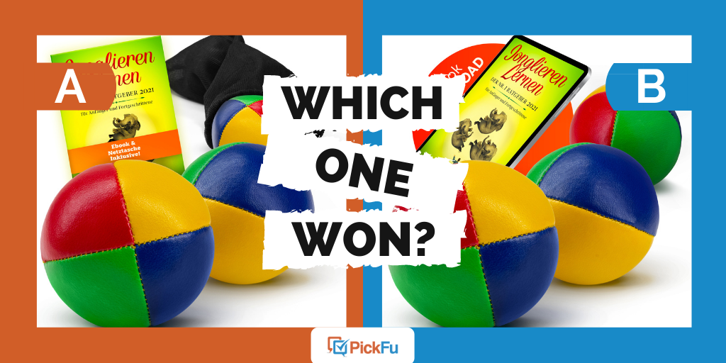 Which One Won: product image for juggling set