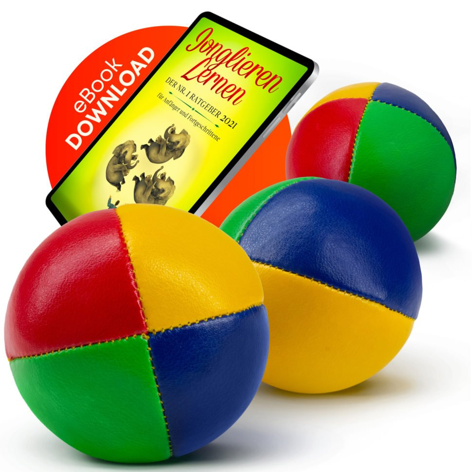 Which One Won: Option B juggling set