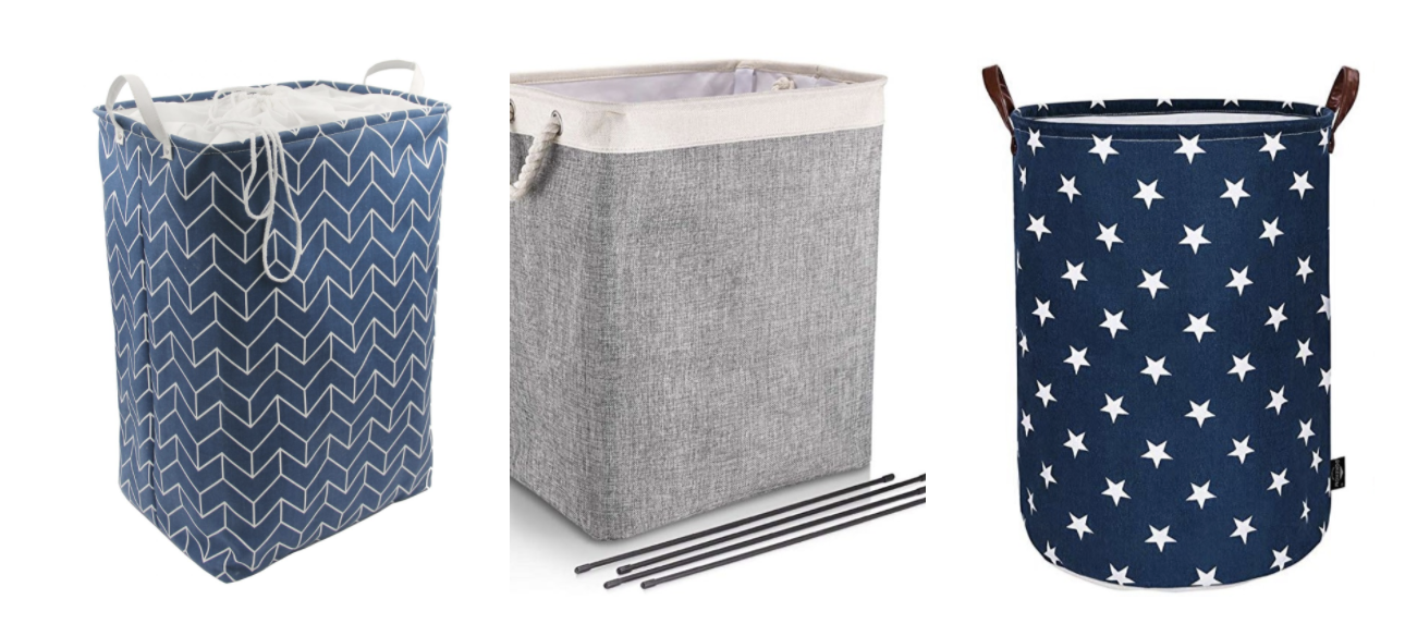 Amazon FBA product sourcing: example of laundry basket PickFu poll