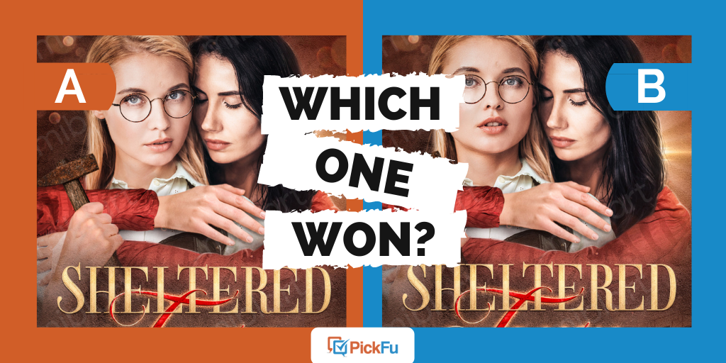 """An image showing two book covers and saying """"Which One Won?"""""""