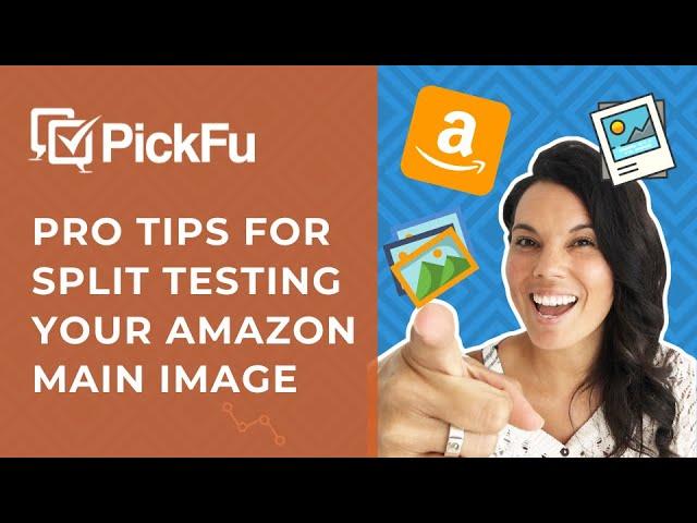Video: top tips for split testing your Amazon main image with Daniela Bolzmann