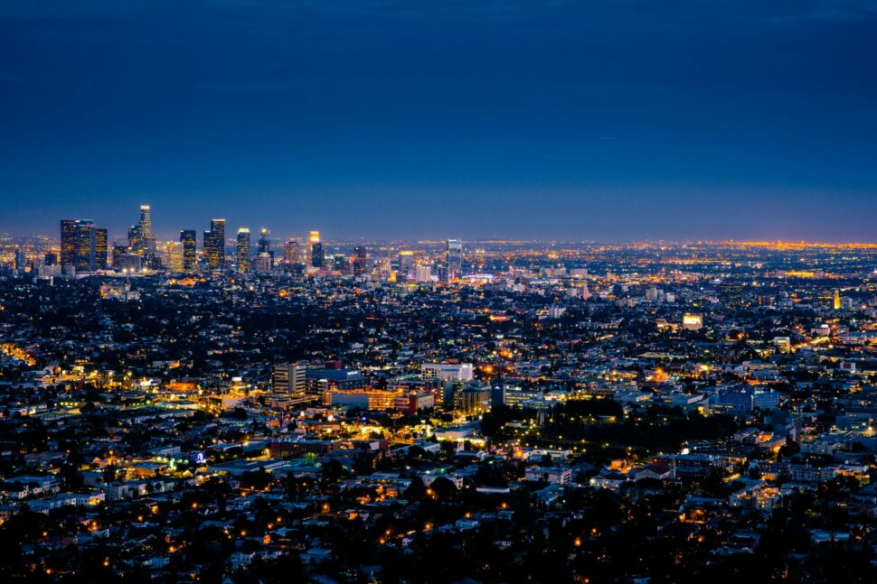 An image showing the Los Angeles cityscape.
