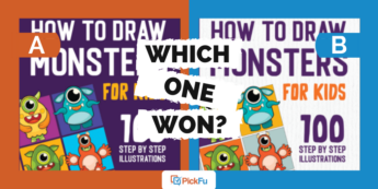 """A header image showing two book covers and saying """"Which One Won?"""""""