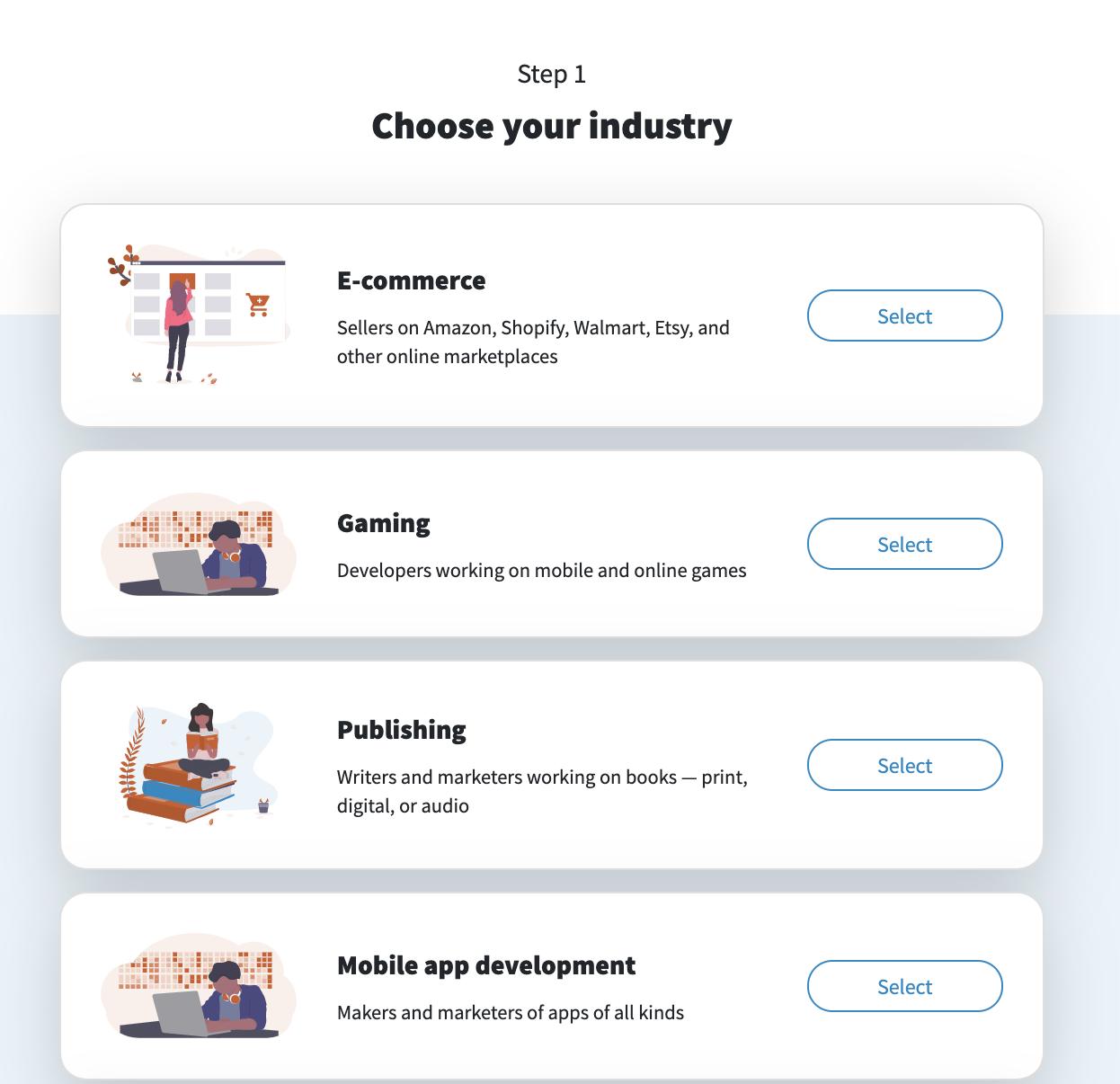 Amazon listing optimization: screenshot of PickFu Poll Builder