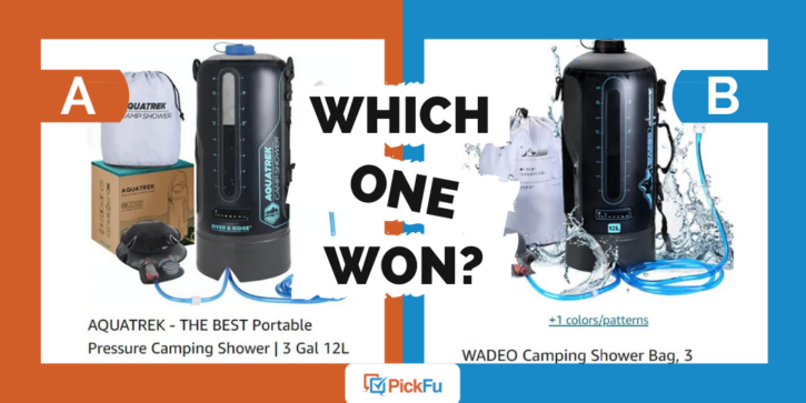 Which One Won: competitive test of camping shower brand