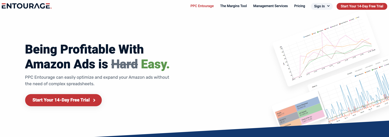 PPC Entourage, one of the best Amazon PPC tools