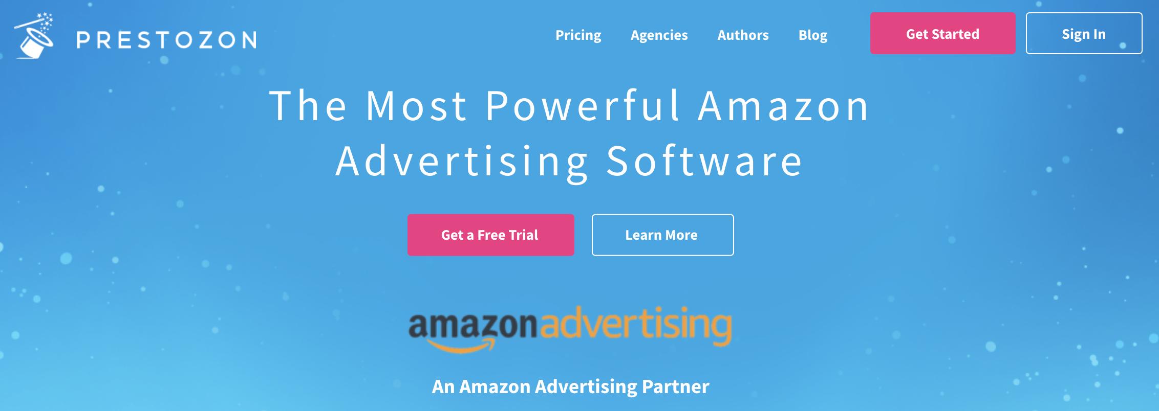 Prestozon, one of the best Amazon PPC tools